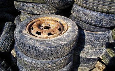 Autobanden recycling, waarvoor gebruikt?