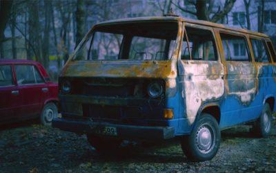 Krassen verwijderen auto