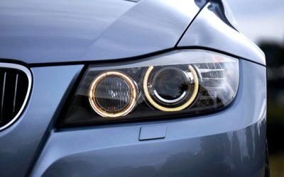 Xenon verlichting en lampen in auto's